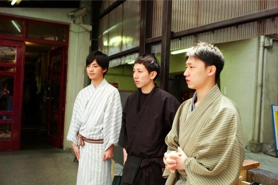 一門の京珠、京由、京純と